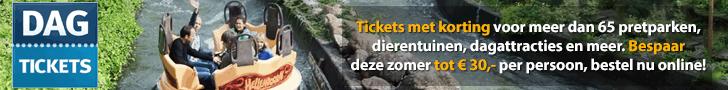 Dagtickets Dagje uit wandelen wildpark pretparken