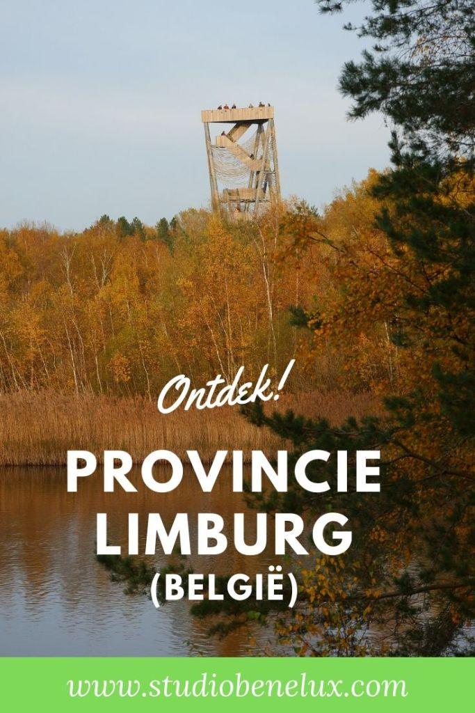 wandelen ontdekken Provincie Limburg Vlaanderen België Benelux