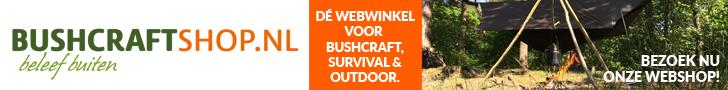 Bushcraft wandelen wandelroutes Benelux België Nederland kamperen