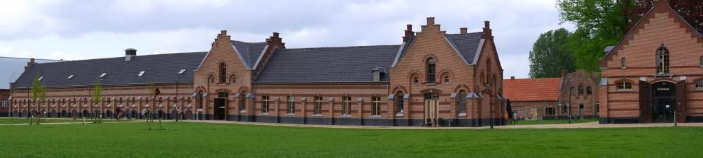 kolonie weldadigheid koloniemuseum merksplas varkensstallen gerenoveerd België Kempen