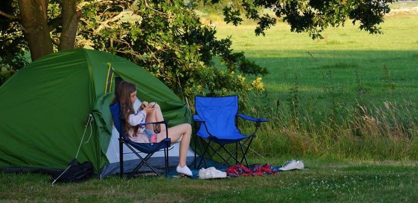 tent kamperen