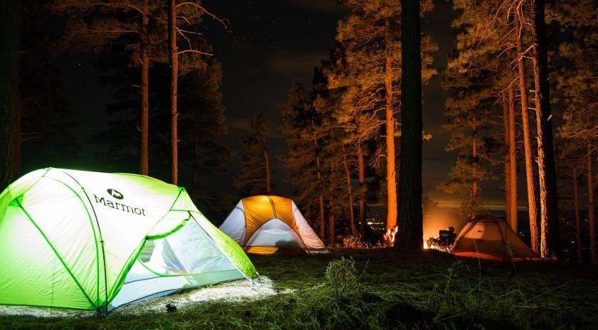 kamperen tent