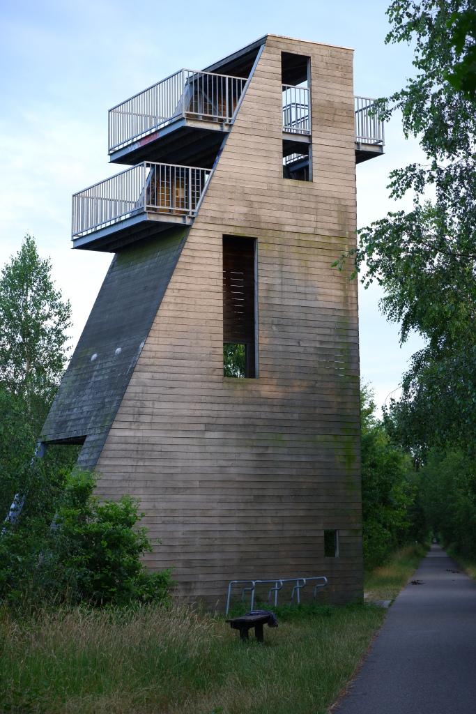 Vennengebied Turnhout wandelroute natuurreservaat natuurgebied uitkijktoren Bels lijntje fietsroute