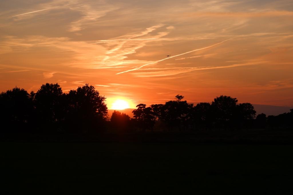 Vennengebied Turnhout wandelroute natuurreservaat natuurgebied zonsondergang