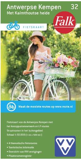 fietskaart Antwerpese Kempen