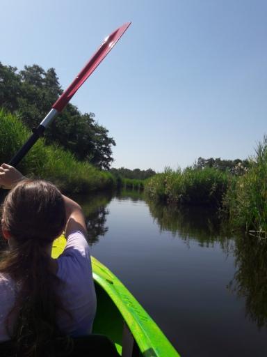 kano varen weerribben wieden nationaal park belt-schutsloot kanoën kano boot varen