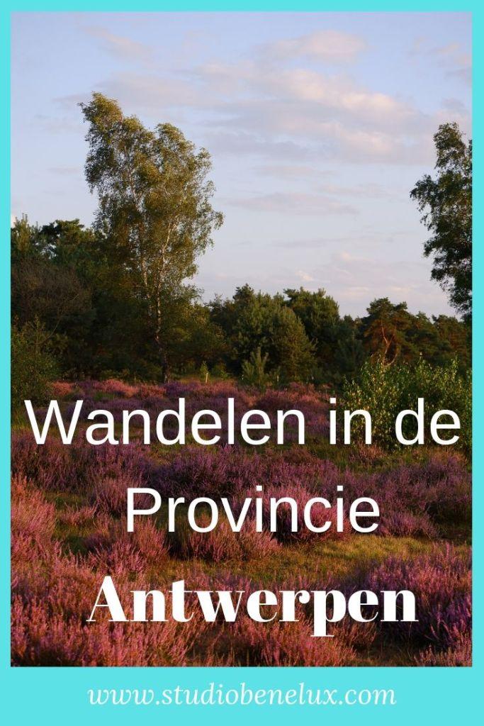wandelen natuurdomein natuurgebied provincie Antwerpen