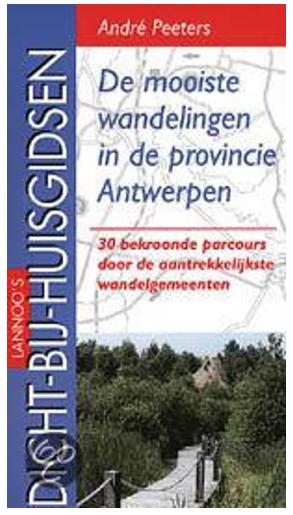wandelkaart provincie Antwerpen