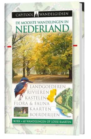 wandelen Nederland boek