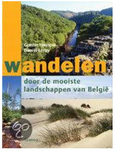 landschappen belgië boek wandelen