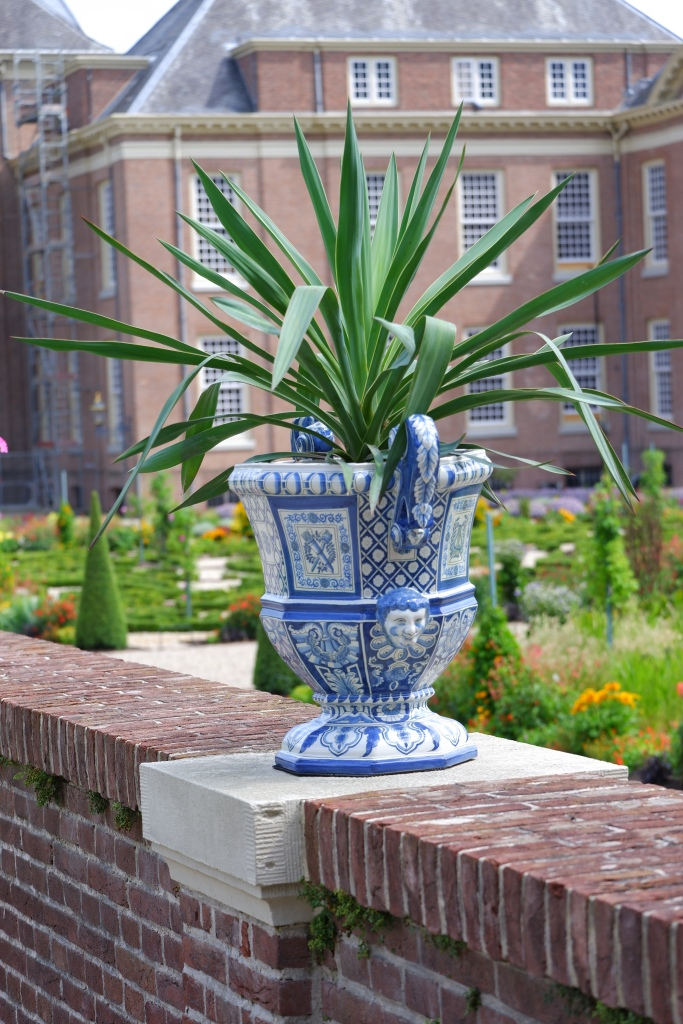 koninklijk paleis Apeldoorn  Het Loo Delfts blauw