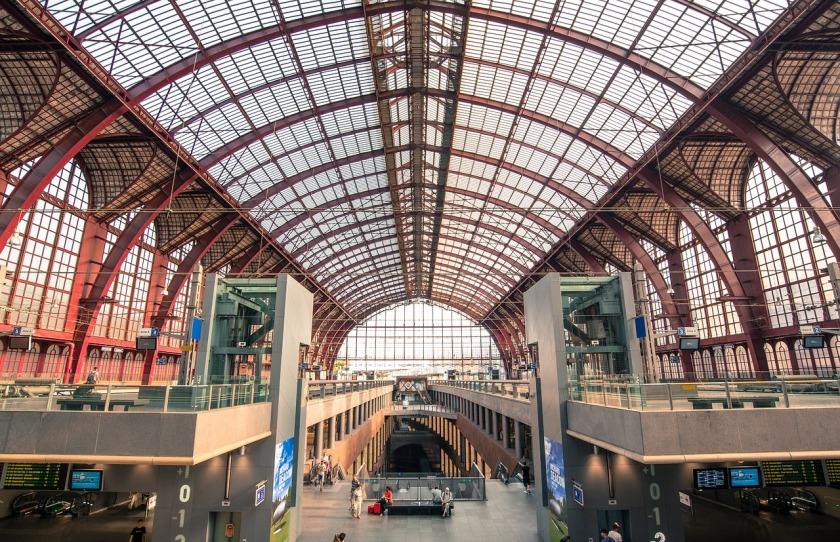 Antwerpen station citytrip stadsbezoek België Benelux
