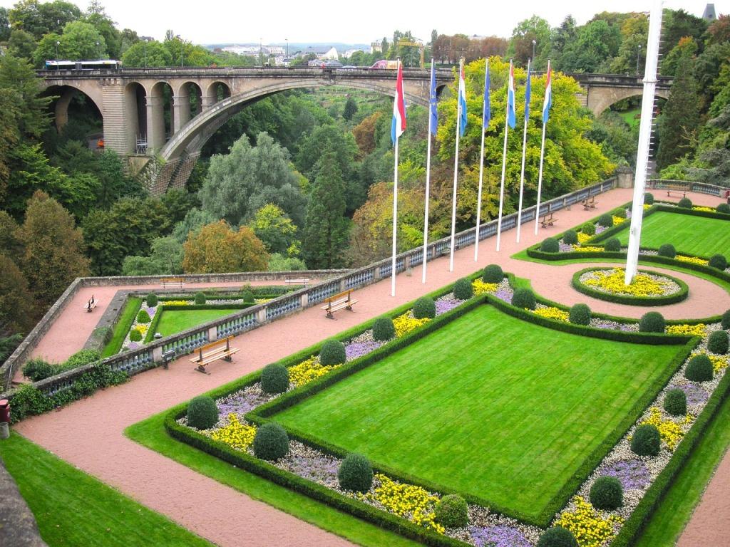Luxemburg Luxembourg brug Adolf citytrip stadsbezoek Benelux