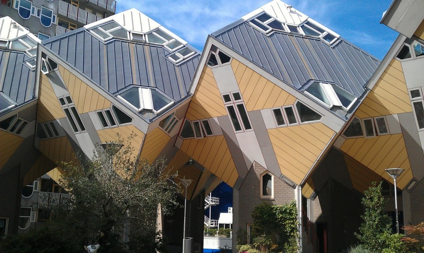 Rotterdam kubuswoningen citytrip stadsbezoek Nederland Holland Benelux