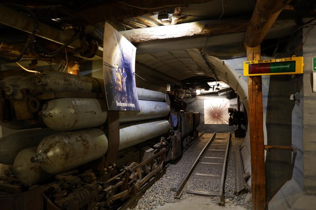wandelen b-mine mijnmuseum Limburg België Benelux