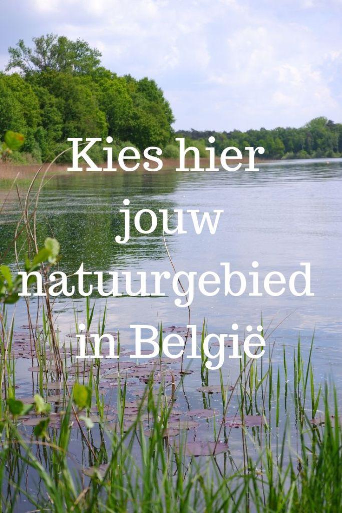 natuurgebieden wandelgebieden België Benelux