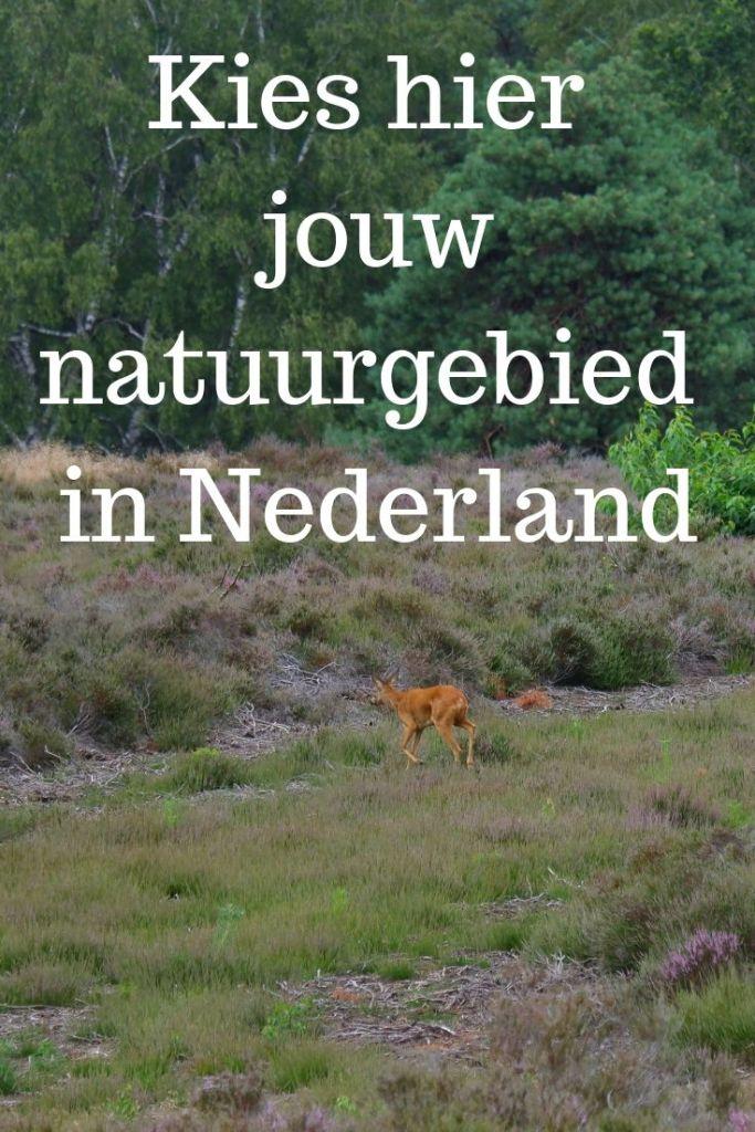 natuurgebieden wandelgebieden Nederland Benelux