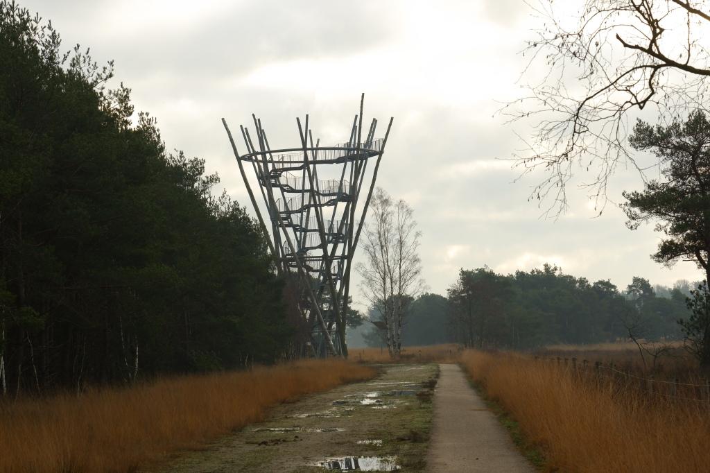 wandelen wandeling natuurwandeling Noord-Brabant Landgoed de Utrecht Esbeek Nederland Benelux Flaestoren