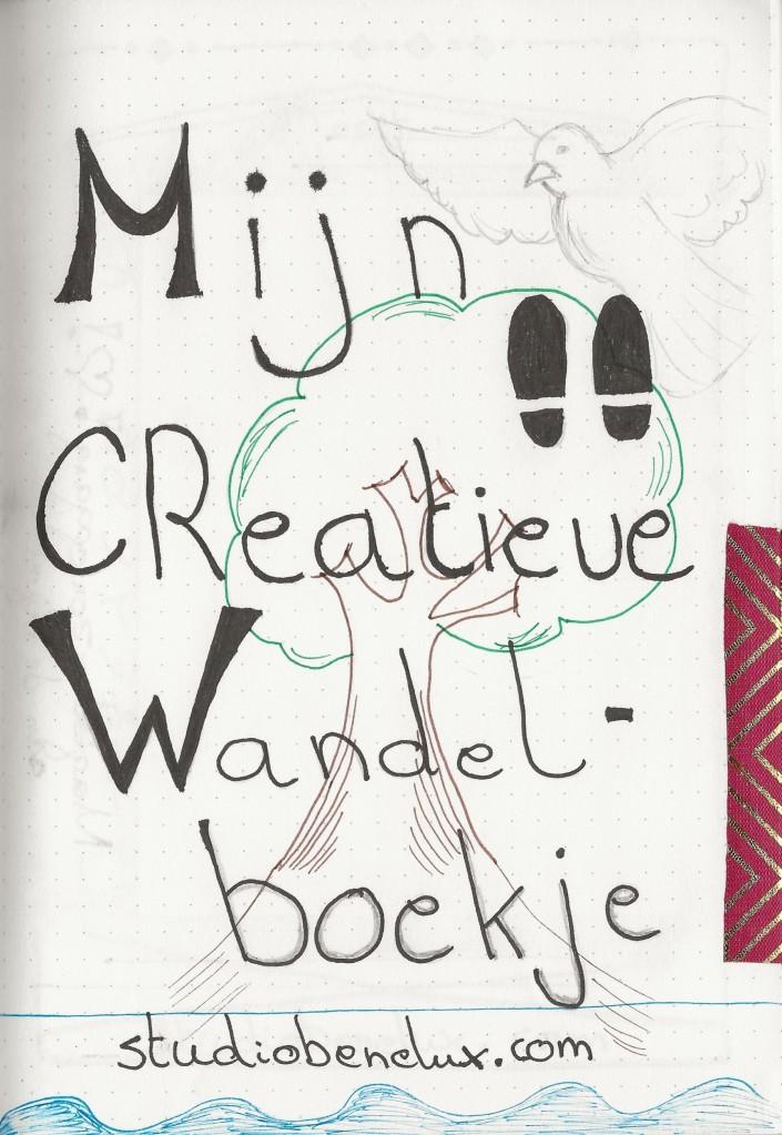wandelen wandeling Creatief wandelboek bullet journal