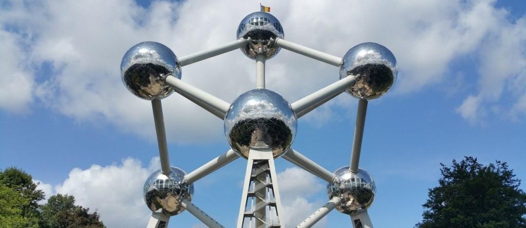 Brussel België Atomium monument