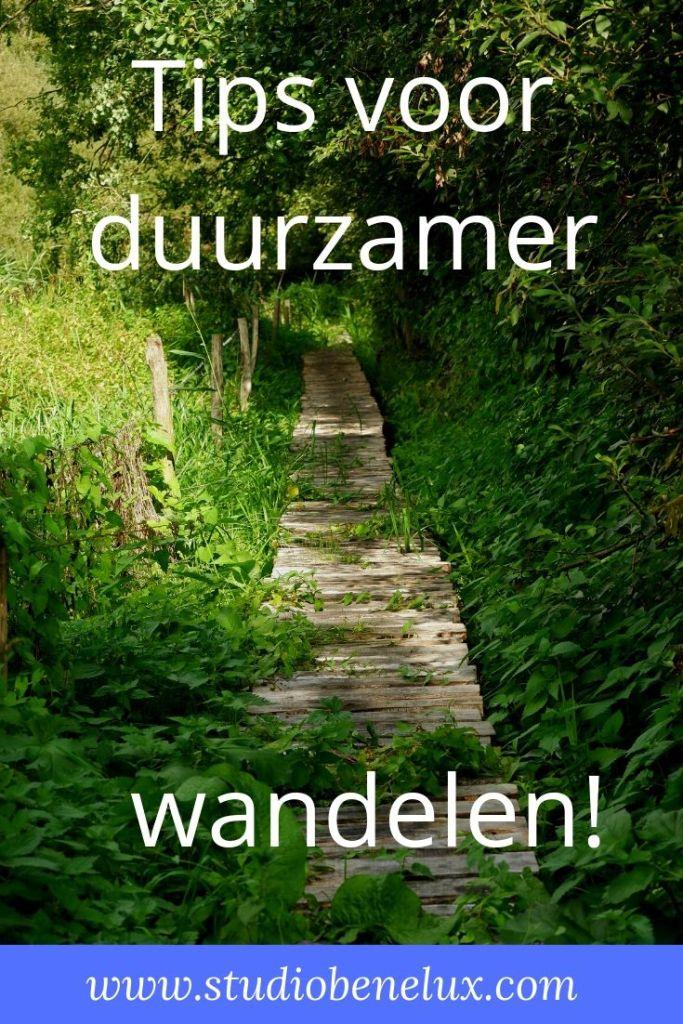 wandelen wandeling duurzaam ecologisch natuurwandeling backpacken België Nederland Luxemburg Benelux