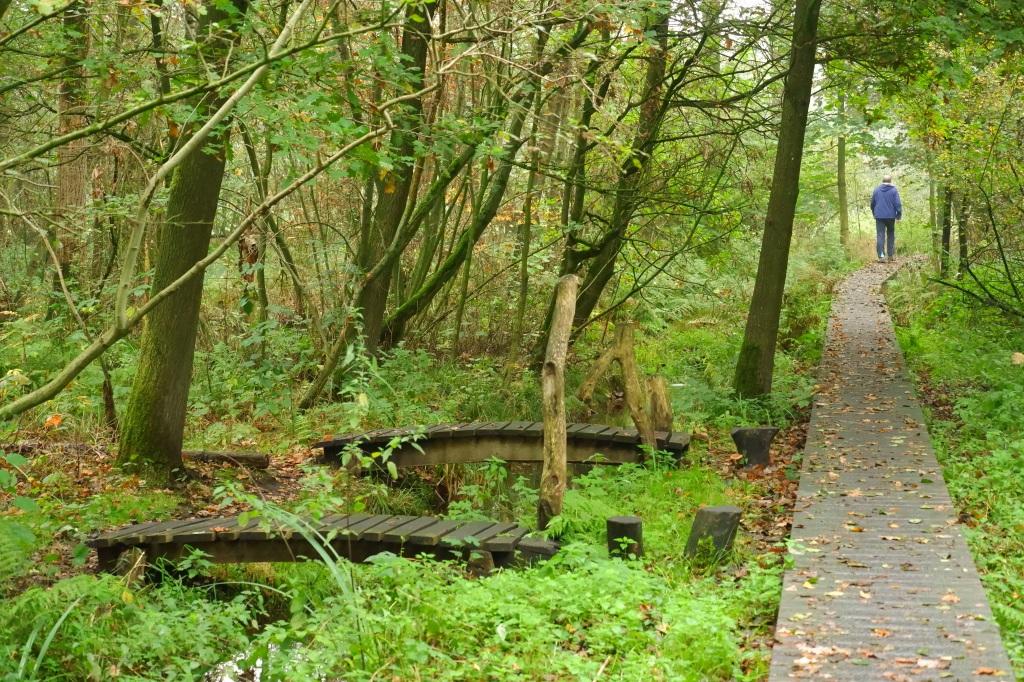 witte netevallei Retie wandeling wandelpad houten pad natuurwandeling wandelen