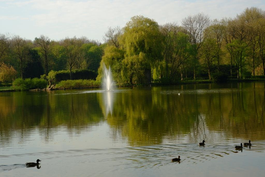 staycation reizen eigen land stadspark Turnhout België Benelux