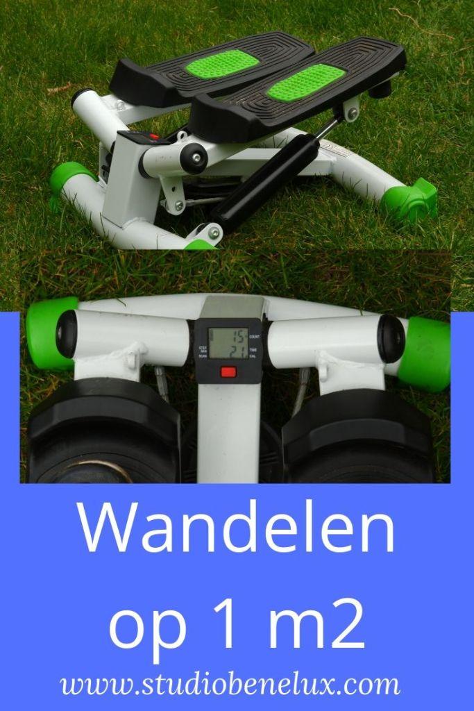 wandeltraining wandelen fitness conditietraining conditie stepper