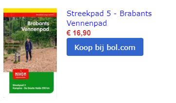 vennenpad noord brabant brabantse kempen Nederland wandelroute wandeling