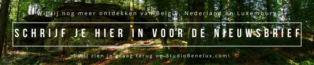 studiobenelux nieuwsbrief België Nederland Luxemburg reizen reistips wandelen fietsen paardrijden