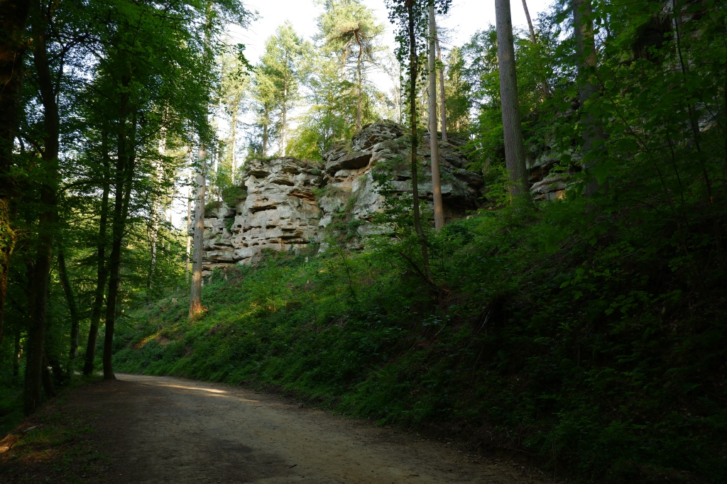 wandelroute C1 Consdorf Mullerdal Klein Zwitserland Luxemburg Benelux wandelen