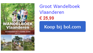 wandelboek vlaanderen België Wandeling wandelroutes