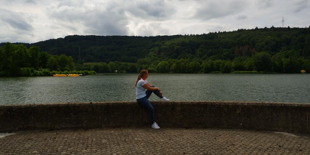 daguitstap reisverslag Meer Echternach Luxemburg Mullerthal Trail wandelen wandelroute