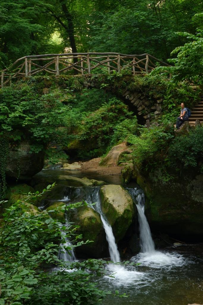 Schiessentumpel Cascade waterval Mullerthal wandelroute wandelen Luxemburg bezienswaardigheid reisverslag