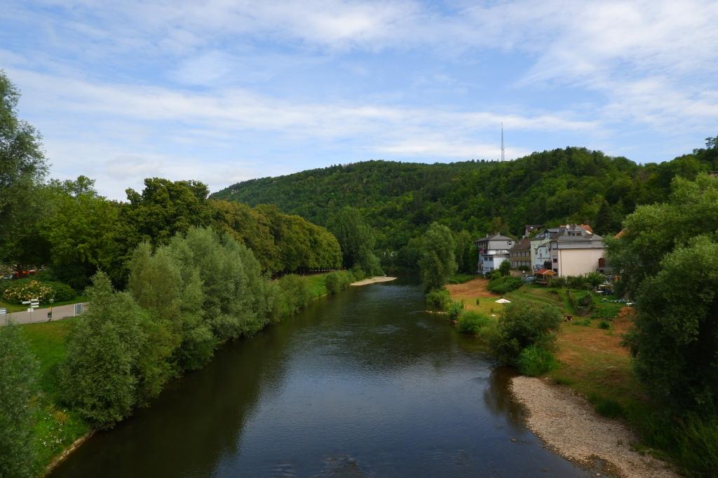 reisidee reistips daguitstap Echternach stadswandeling Luxemburg mullerthal Trail Sûre Sauer stadspark