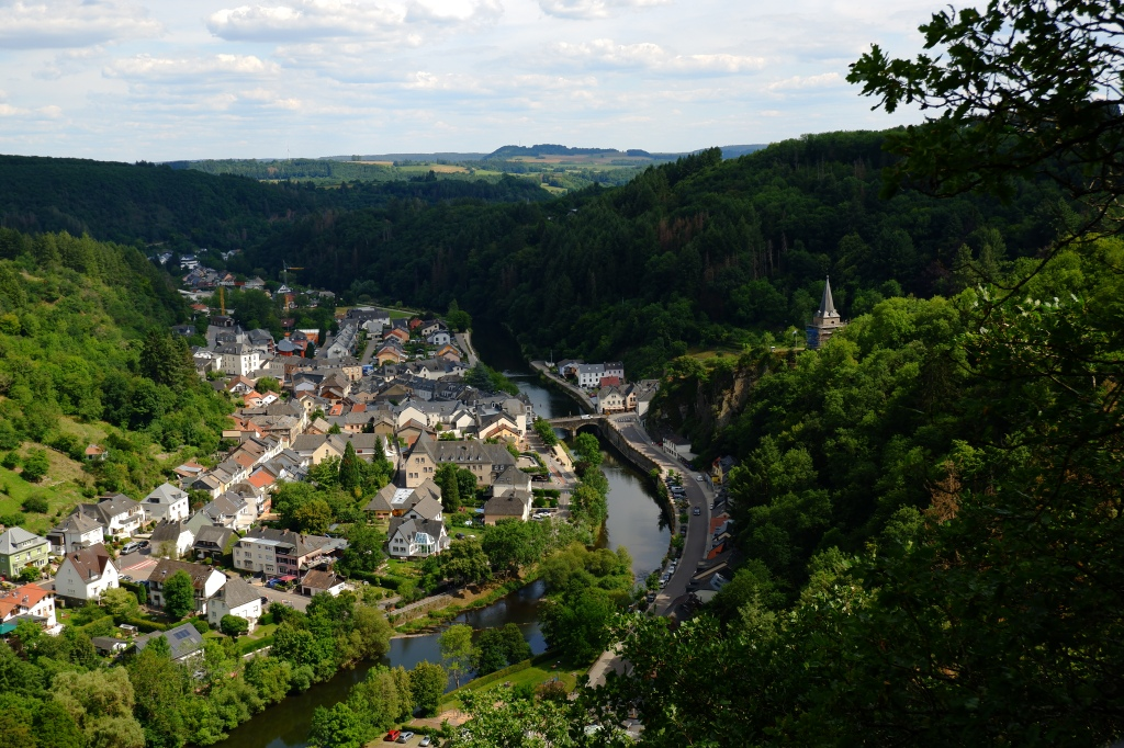 daguitstap Luxemburg Vianden stoletjeslift télésiège  Ardennen