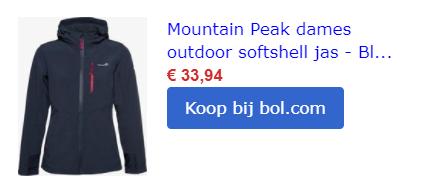 outdoor gear hiking wandelkledij softshell jas