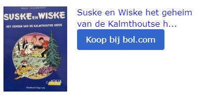 suske en wiske Kalmthoutse Heide