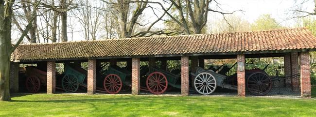 Karrenmuseum Essen toegangspoort Hemelrijk Kalmthoutse Heide